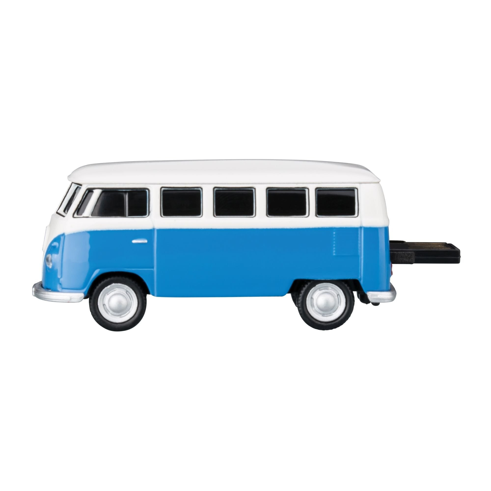 USB flash drive VW Bus T1 1:72 BLUE 16GB, View 4