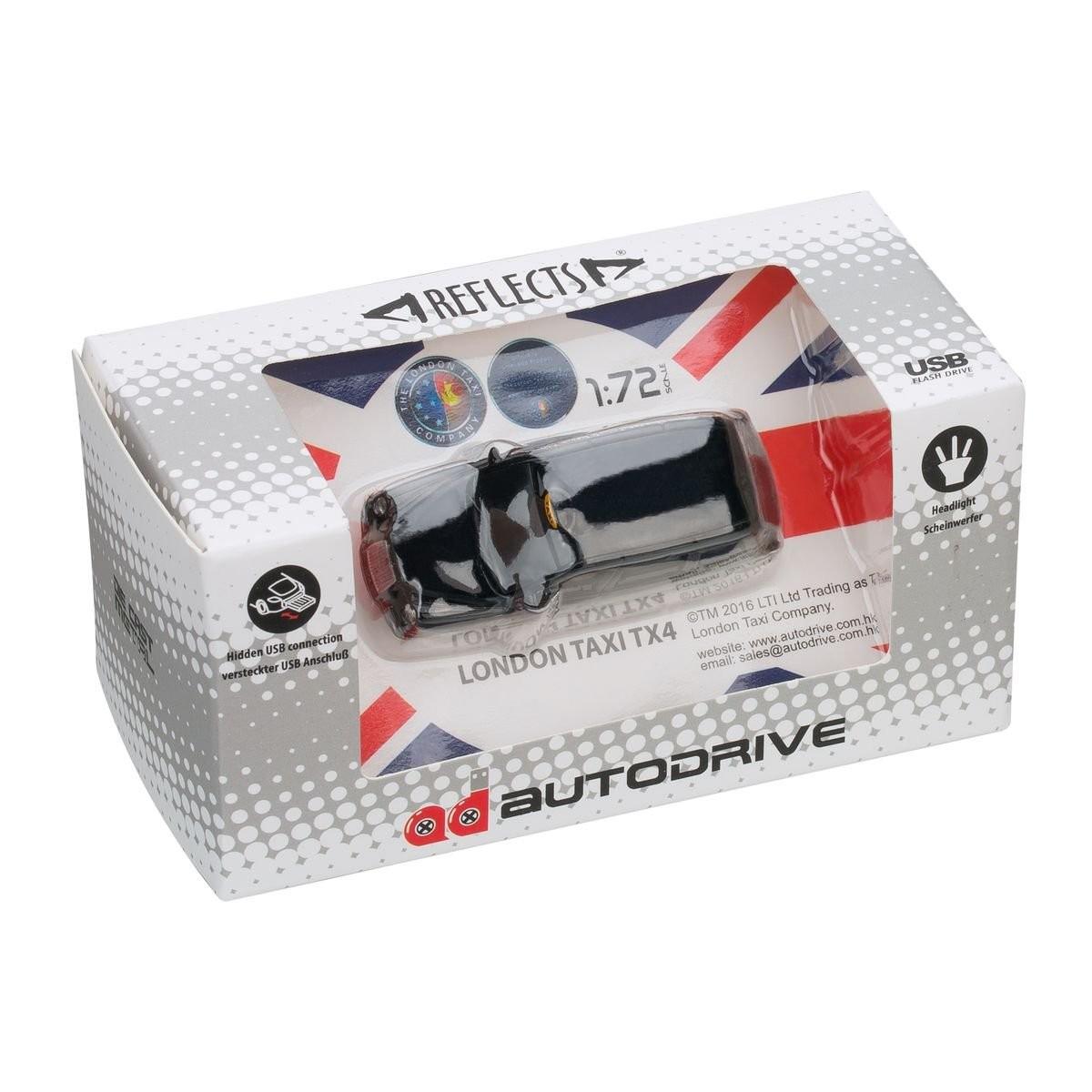 USB flash drive London Taxi TX4 1:72 BLACK 16GB, View 9