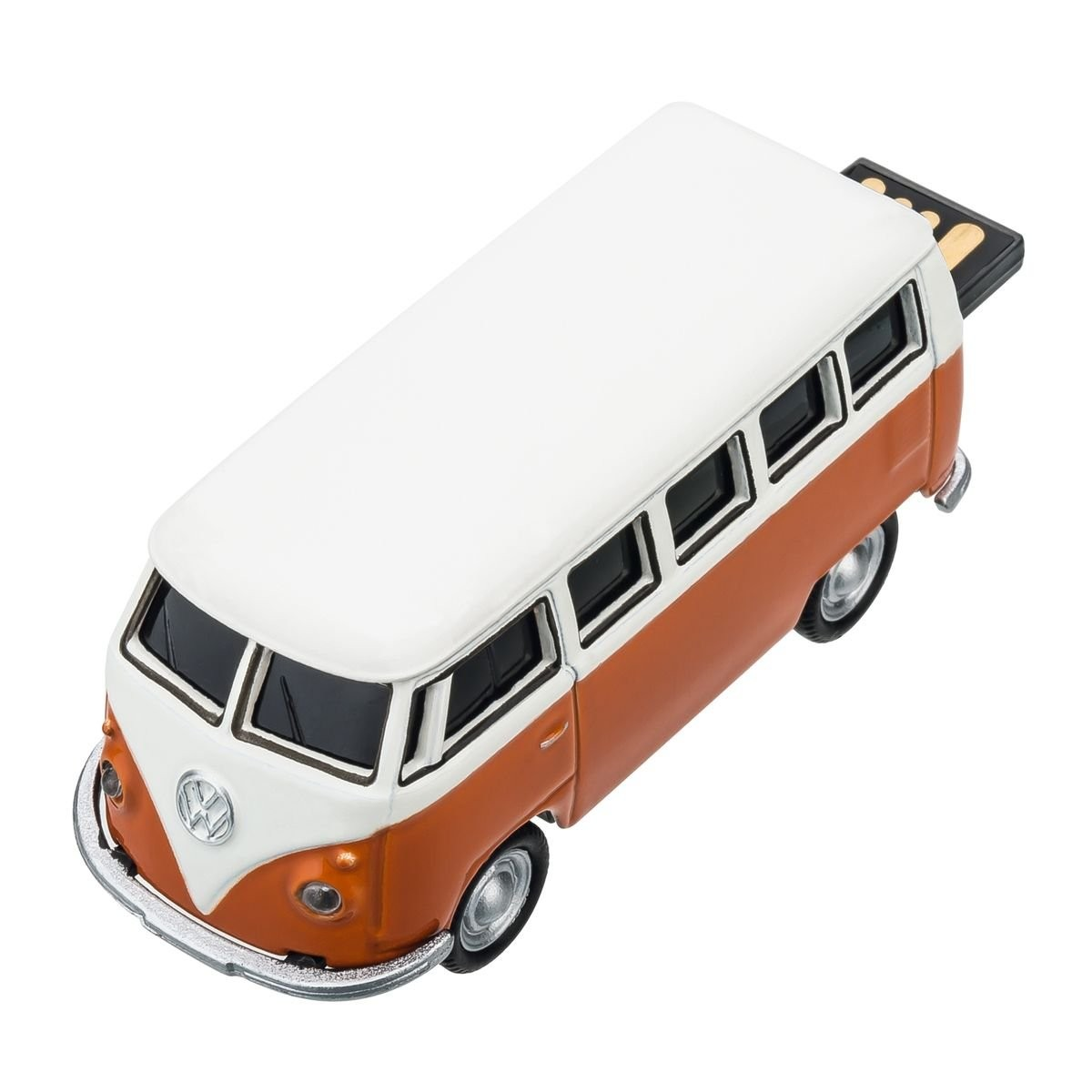 USB flash drive VW Bus T1 1:72 ORANGE 16GB, View 4