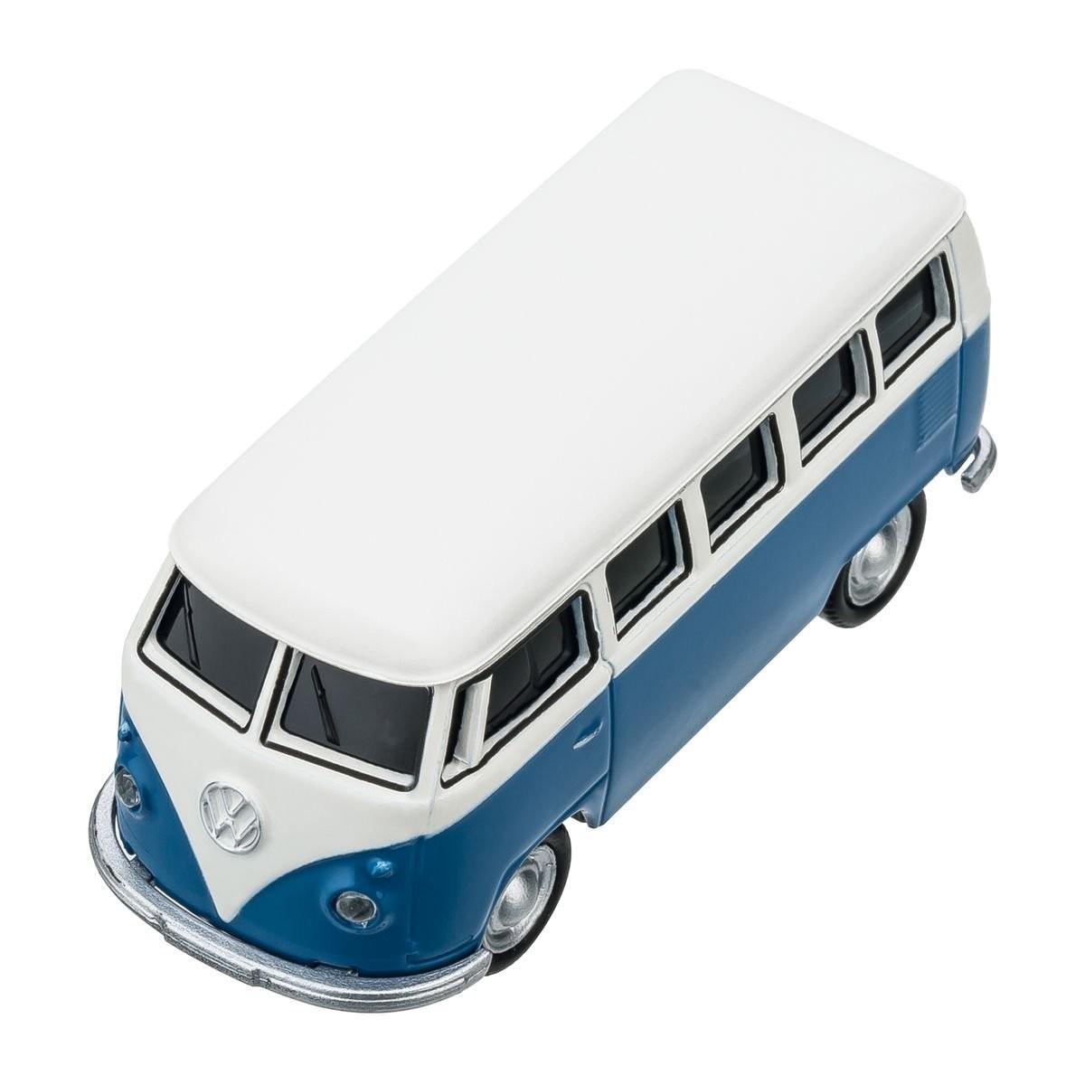 USB flash drive VW Bus T1 1:72 BLUE 16GB, View 8