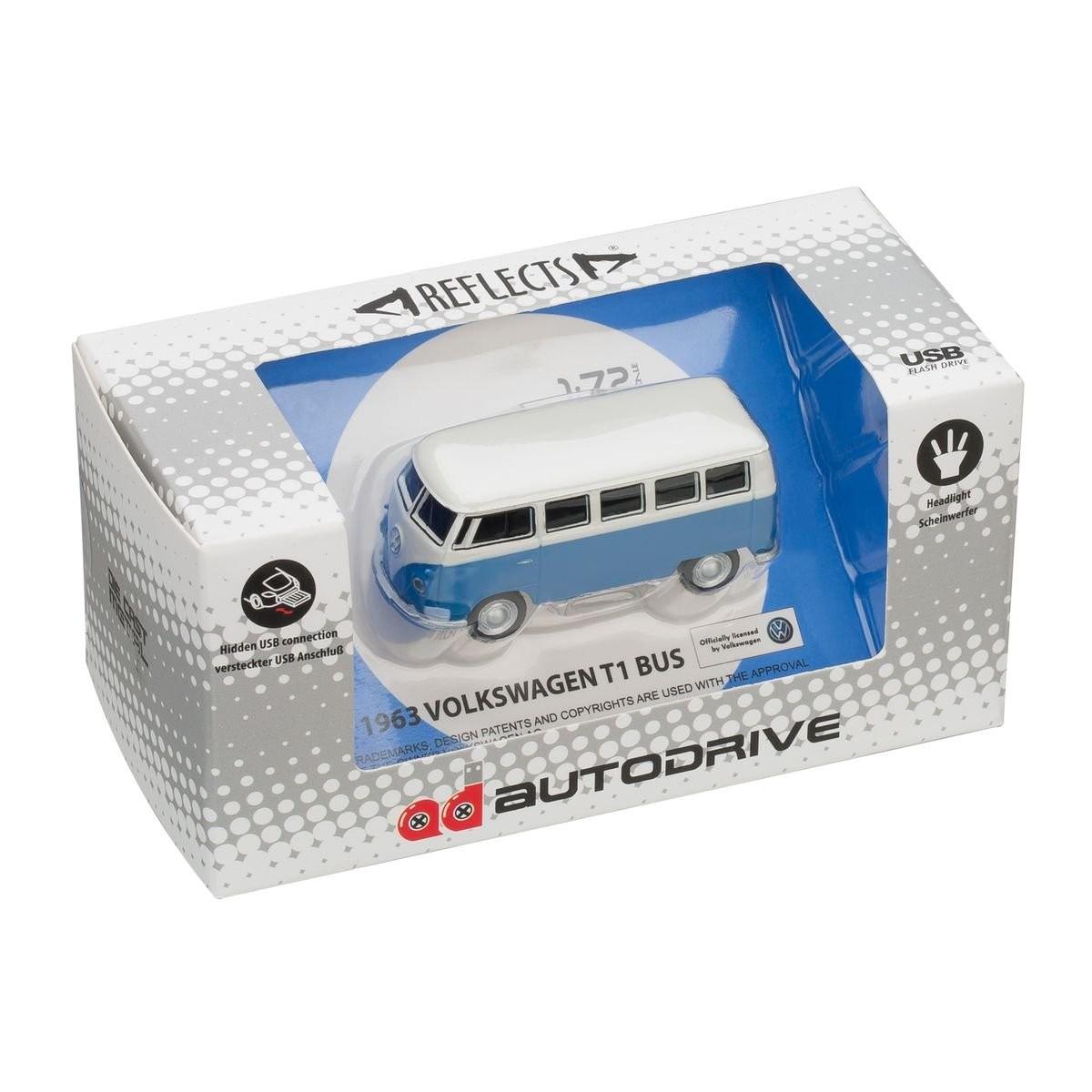 USB flash drive VW Bus T1 1:72 BLUE 16GB, View 9