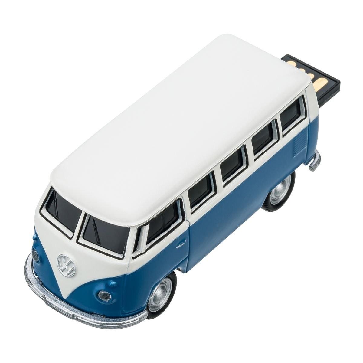USB flash drive VW Bus T1 1:72 BLUE 16GB, View 10
