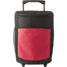 Polyester (600D) cooling trolley - rood