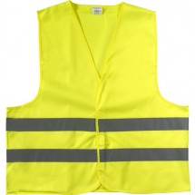 Polyester (150D) veiligheidsvest - geel