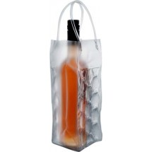 Transparante PVC koeltas 'Iceberg' - transparant