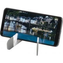 Opvouwbare telefoon- en tabletstandaard - wit