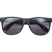 PP zonnebril met gekleurde pootjes - zwart