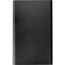 Powerbank met een capaciteit van 4000mAh - zwart