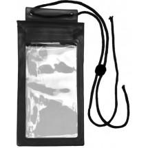 Kunststof spatwaterdichte beschermhoes voor mobiele apparaten - zwart