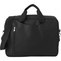Polyester laptoptas 'Rotterdam' - zwart
