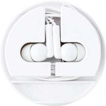 Oordopjes (kabel is ca. 124 cm) 'Basic' - wit