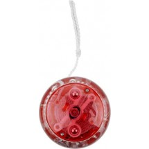 Kunststof jojo - rood