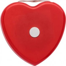 BMI meetlint 'Heart' - rood