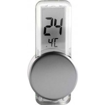 Thermometer 'Point' - zilver