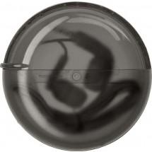 Gekleurde oordopjes in ronde cassette - zwart