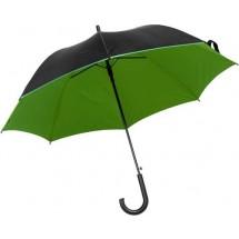 Automatische polyester paraplu met 8 panelen - groen