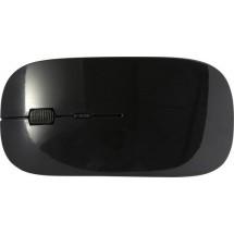 ABS draadloze optische muis - zwart