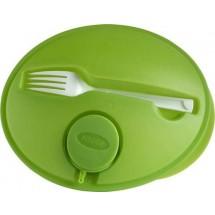 Saladedoos 'Dinner' - licht groen
