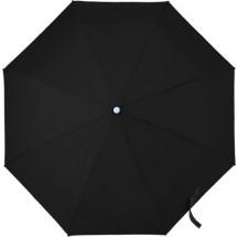 Opvouwbare automatische stormparaplu, pongee - zwart