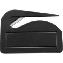 Briefopener 'Pocket' - zwart