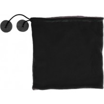 Polyester fleece (240 gr/m²) 2-in-1 muts - zwart