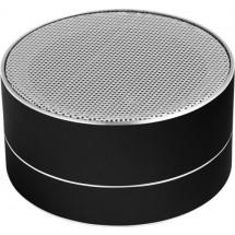 Aluminium draadloze speaker - zwart