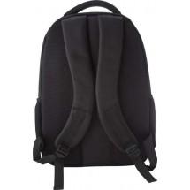 Polyester laptop-/rugtas (1680D) 'Mondrian' - zwart