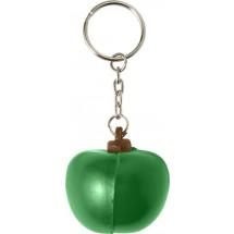 Sleutelhanger met anti-stress fruit figuur - groen