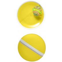 Kunststof 3-delig balspel - geel