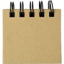 Notitieboekje / Memoboekje 'Memo' - bruin
