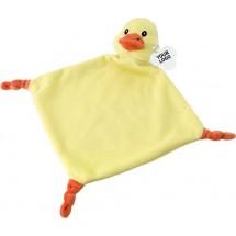 Baby tutdoekje 'Relax' - geel