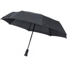 Pongee (190T) paraplu met speaker - zwart