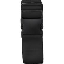 Polyester (300D) bagageriem - zwart