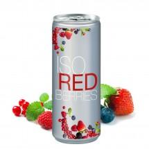 Iso Drink, 250 ml, Body Label transp (Alu Look)