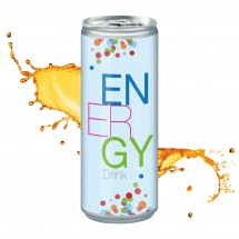 Energy Drink, 250 ml, Body Label