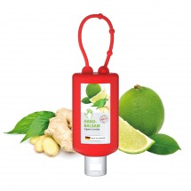 Handbalsem Gember, Hangflacon 50 ml (rood), Body Label