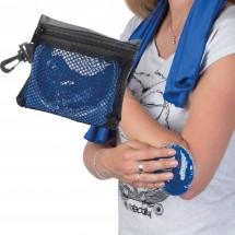 Handdoek met koelblok Amilly-blauw