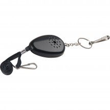 Pocket alarm Ovada - zwart