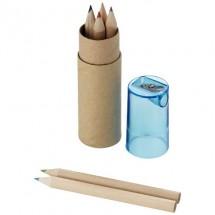 7 Delig potlodenset - bruin