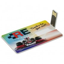 USB Stick 2.0 Card 16GB - Wit