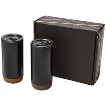 Valhalla koper vacuüm geïsoleerde geschenkset - Zwart