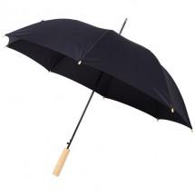 "Alina 23"" automatisch openende gerecyclede PET paraplu - Zwart"