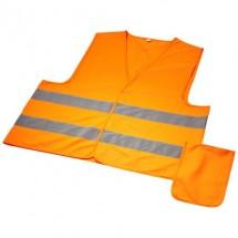 Watch-out veiligheidsvest met hoes voor professioneel gebruik - Neon Orange