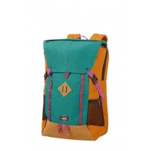 American Tourister Urban Groove Lifestyle Backpack 4 17.3-Groen/Orange