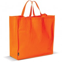 Grote boodschappen tas - oranje
