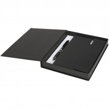 Tactical notitieboek en pen cadeauset - Zwart
