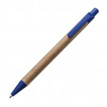 Papieren balpen - blauw