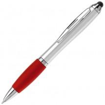 Balpen Hawai Touchscreen - zilver / rood