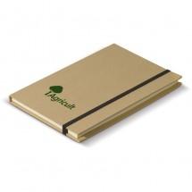 Kartonnen notitieboek A5 - bruin
