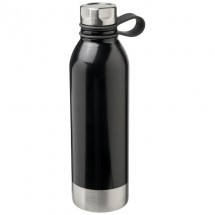Perth 740 ml roestvrijstalen drinkfles - Zwart